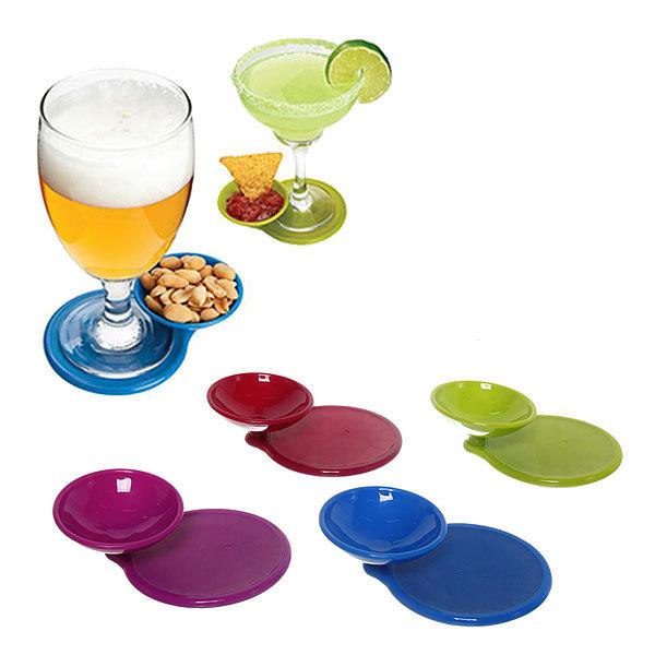 Подставка для бокала и орешков, в наборе 4 шт. купить оптом и в розницу
