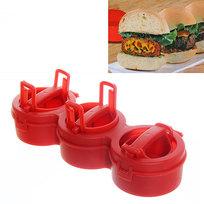Форма для приготовления фаршированных котлет StufZ Burger Press купить оптом и в розницу