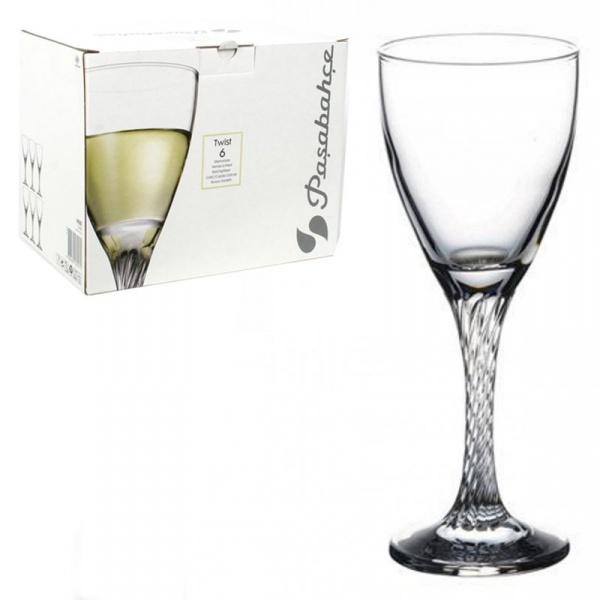 Набор фужеров д/белого вина ТВИСТ 6шт 180мл (1/4) купить оптом и в розницу