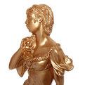 Статуэтка Девушка с корзиной (золото) 57см. купить оптом и в розницу