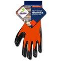 Перчатки обливные с латексным покрытием оранжевые ″БЕРТА″ купить оптом и в розницу