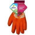Перчатки обливные нейлоновые с рельефным латексным покрытием цветастые ″БЕРТА″ купить оптом и в розницу