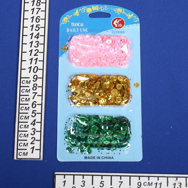 Пайетки d-7мм 346-04 купить оптом и в розницу
