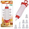 Декоратор для крема с 8 насадками, JH80-2 купить оптом и в розницу