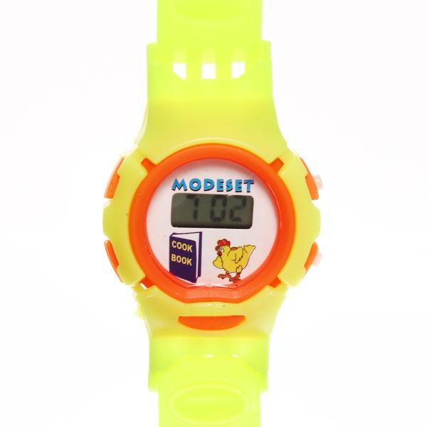 Часы наручные ″Ассорти″ электрон, управление двумя кнопками, на батарейке, цвет микс, d-3.5см купить оптом и в розницу