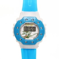 Часы наручные ″Серебрянные вставки″ электронные, управление двумя кнопками, на батарейке купить оптом и в розницу