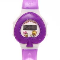 Часы наручные ″Сердце″ электронные, управление двумя кнопками, на батарейке купить оптом и в розницу