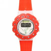 Часы наручные ″Цветок″ электронные, управление двумя кнопками, на батарейке купить оптом и в розницу