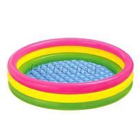 Бассейн надувной 114*25 см трехцветный Intex (57412) купить оптом и в розницу