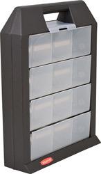 Ящик для мастерской  графит/прозрач./4 шт купить оптом и в розницу