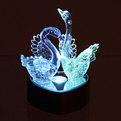 Фигурка из акрила ″Лебеди на сердце″ 10 см ДХ-82 купить оптом и в розницу