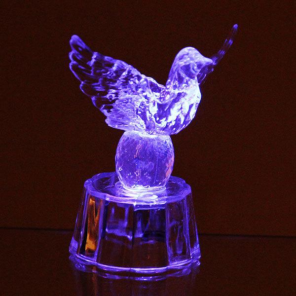 Фигурка из акрила ″Голубь на шаре″ 7,5 см купить оптом и в розницу