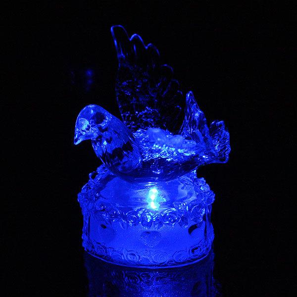 Фигурка из акрила ″Голубь на сердце″ 9 см купить оптом и в розницу