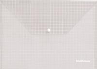 Папка-конверт с кноп. А4 140мк Erich Krause прозрачная купить оптом и в розницу