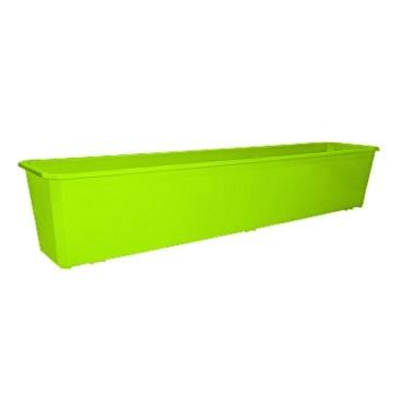 Ящик балконный 80 см салатовый*20 купить оптом и в розницу