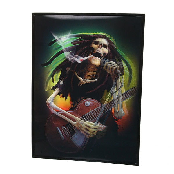 Картина с голограммой 30*40см ″Фэнтези″, гитарист купить оптом и в розницу