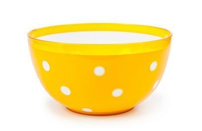 """Салатник двухцветный """"Marusya"""" 2 л (оранжевый)  *32 купить оптом и в розницу"""