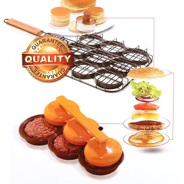 Решетка для гамбургеров 51(+5)*23*23*3, BOYSCOUT купить оптом и в розницу