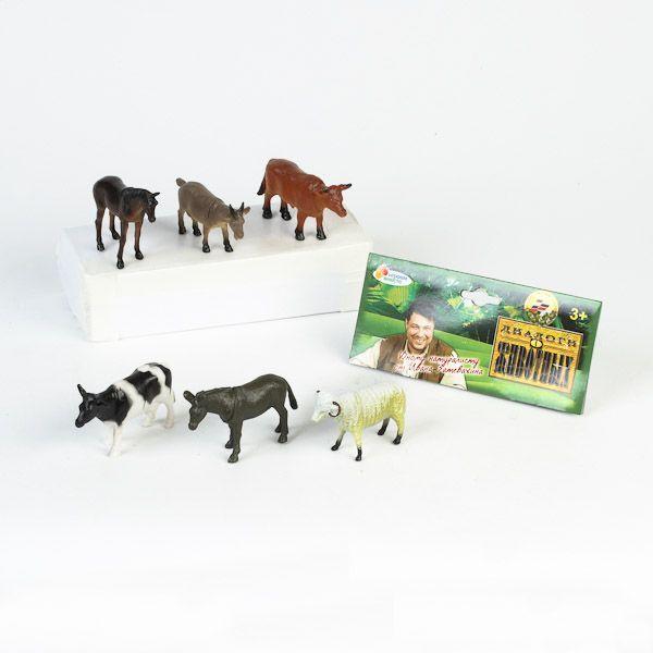 Набор животных 9710-6НВ домашние животные купить оптом и в розницу