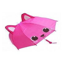 Зонт детский полуавтомат со свистком ″Кот″, 8 спиц, d-92см купить оптом и в розницу
