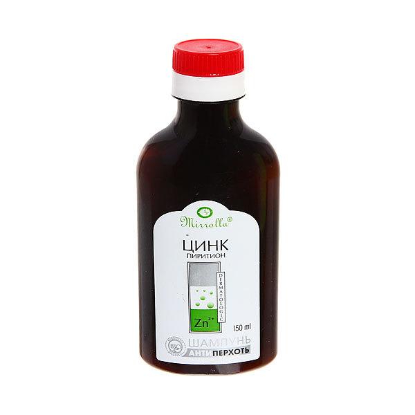 Шампунь от перхоти «Mirrolla» с цинк пиритионом 1% 150 мл купить оптом и в розницу