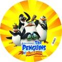 Мяч 23см 2618 Пингвины из Мадагаскара купить оптом и в розницу