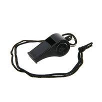 Свисток черный на шнурке купить оптом и в розницу