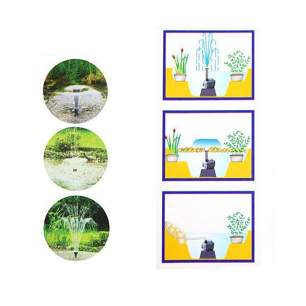 Фонтан для садового водоема JTP-2800 KF купить оптом и в розницу