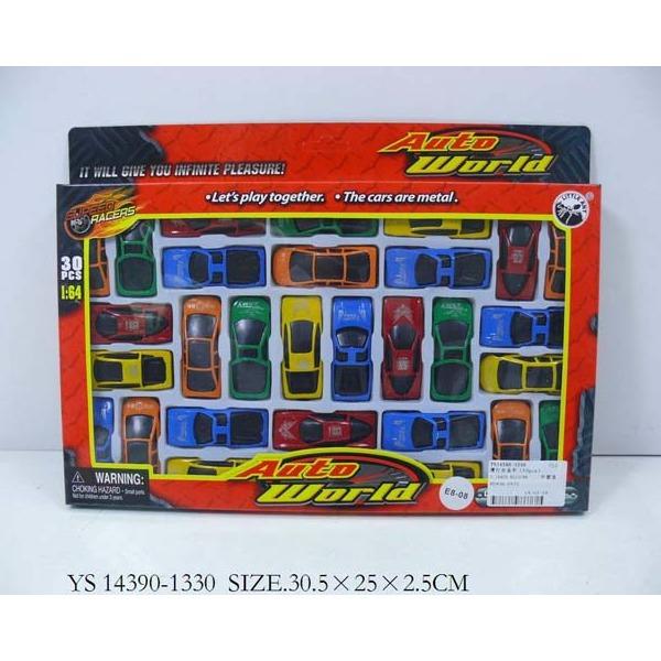 Набор машин металл 1330-ВА 30 шт. LITTLE ANT купить оптом и в розницу