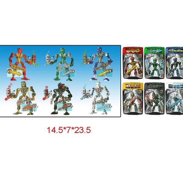 Робот Бионикл 9461-9466 6 видов в банке купить оптом и в розницу