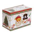 Набор для специй керамический ″Дед Мороз и Снеговик″ 2 шт купить оптом и в розницу