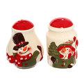 Набор для специй керамический ″Снеговики″ 2 шт купить оптом и в розницу