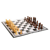 Игра настольная 3 в 1 (шахматы, нарды, шашки) 29*14,5 см купить оптом и в розницу