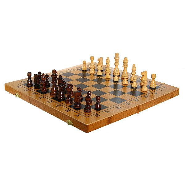Игра настольная 3 в 1 Шахматы+ Нарды +шашки 40*20см В4020 купить оптом и в розницу