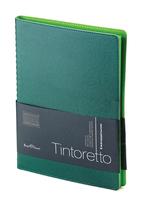 Еженедельник б/дат В5 BV 80л 185*230 Tintoretto зеленый, греб. купить оптом и в розницу
