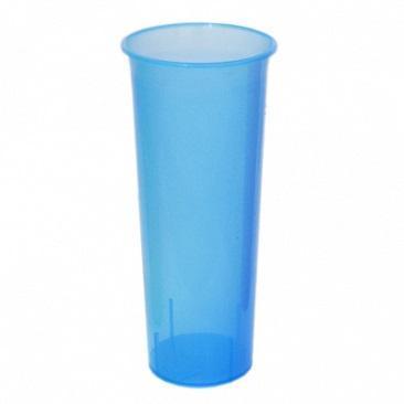Ваза для цветов D 112 mm голубой прозрачный *18 купить оптом и в розницу