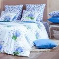 Дуэт перкаль-люкс Virginia blue 3007/1 Хлопковый Край купить оптом и в розницу
