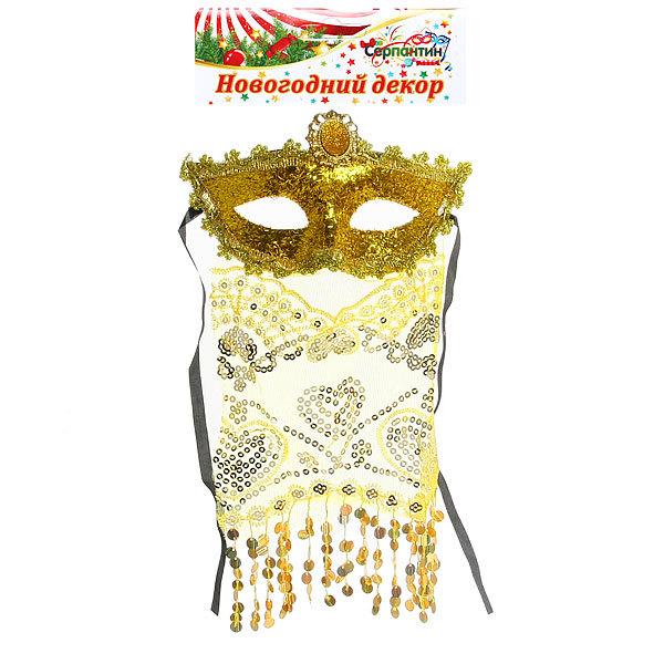 Маска карнавальная пластиковая половинка ″Тысяча и одна ночь″ купить оптом и в розницу