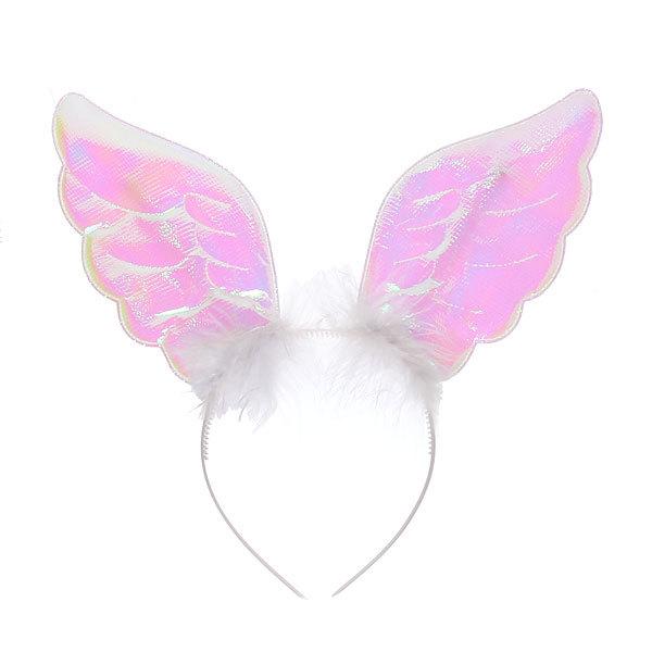 Ободок карнавальный ″Ангелочек″ розовый купить оптом и в розницу