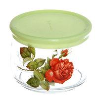 Банка для продуктов стеклянная 500мл ″Алая роза″ 2 купить оптом и в розницу