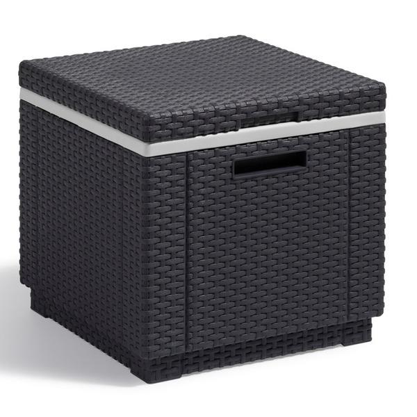 Куб с холодильником  (искусственный ротанг)ICE CUBE коричн.42х42х41 см Curver купить оптом и в розницу