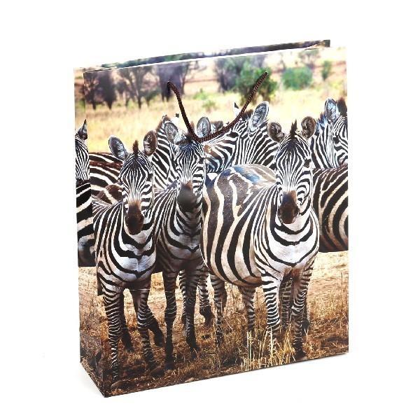 Пакет подарочный ″В мире животных″ 28*34*8,5 купить оптом и в розницу