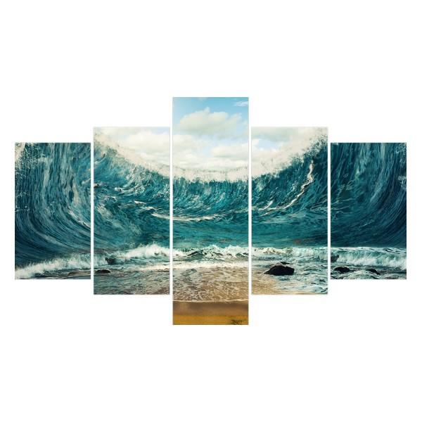 Картина модульная полиптих 75*130 Море диз.5 92-02 купить оптом и в розницу