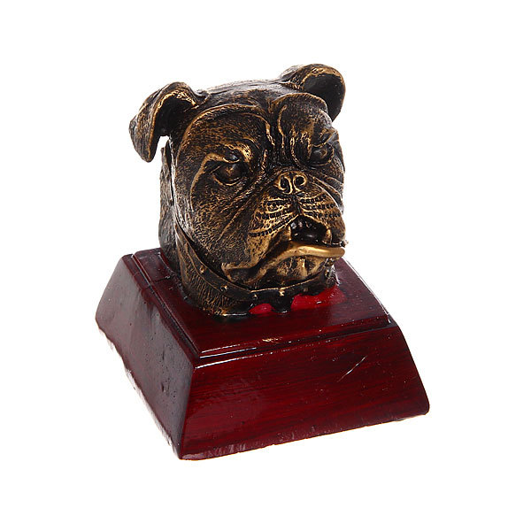Кубок из полистоуна Собака (9 см) купить оптом и в розницу