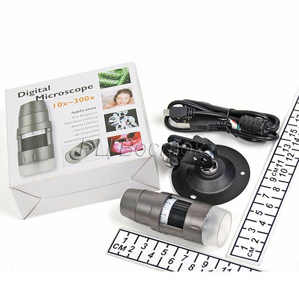 Микроскоп цифровой х10-300 USB купить оптом и в розницу