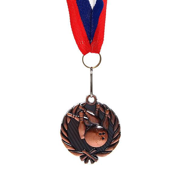 Медаль ″ Боулинг ″- 3 место (4,5см) купить оптом и в розницу