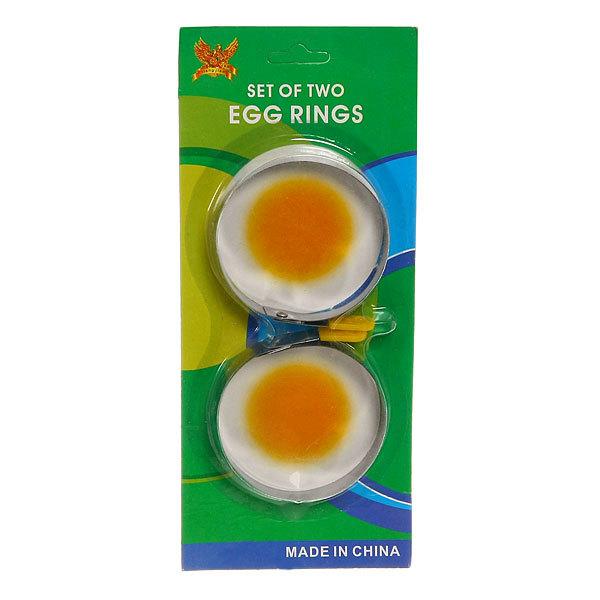 Форма для приготовления яиц 2шт Кольцо купить оптом и в розницу