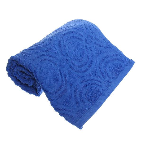 Махровое полотенце 50*100см василек жаккард ЖК100-2-008-036 купить оптом и в розницу