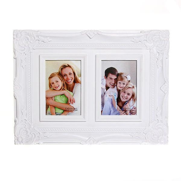 Фоторамка Семейная, белая, 2в1, 38*29, 2202 купить оптом и в розницу