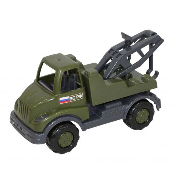 Автомобиль Кнопик эвакуатор военный 52049 П-Е /20/ купить оптом и в розницу